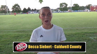 Siebert Assists on Game Winner for Caldwell County