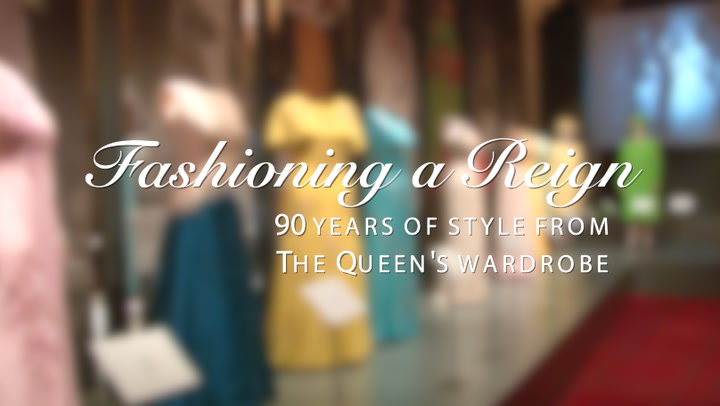 Join HELLO! for a sneak peek into The Queen\'s wardrobe at Buckingham Palace\'s new summer exhibition