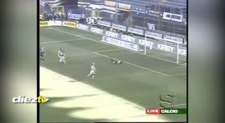 El mejor de Adriano con el Inter de Milán