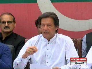 عمران خان کا سینٹ الیکشن میں ووٹ بیچنے والے ارکان کو شوکاز نوٹس دینے کا اعلان