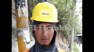 ¡Corrimos por el olor a gasolina! Luis Ramos testigo del accidente