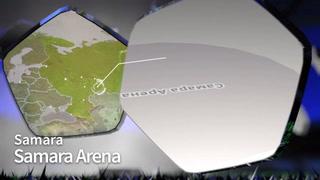 Características del Estadio de Samara, para el Mundial Rusia 2018