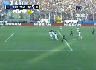 ¡GOOOL DEL MOTAGUA! Al 74 Carlos Discua pone el 3-0 sobre Honduras Progreso. Terrible global de 7-1