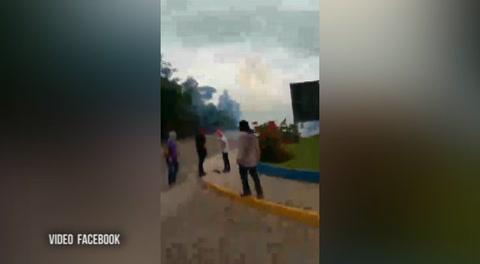 Así vivieron el desalojo los estudiantes en Tegucigalpa