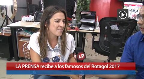 LA PRENSA recibe a los famosos del Rotagol 2017