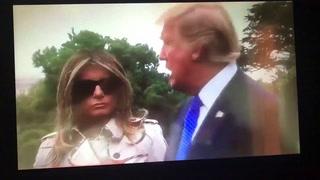 ¿Melania Trump tiene una doble que asiste a los actos públicos?