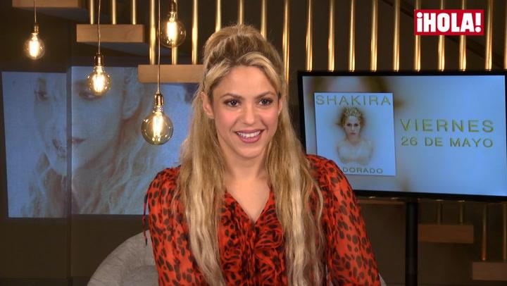¿Cómo han influido Piqué y sus hijos en su nuevo disco? Shakira desvela los secretos de \'El dorado\'