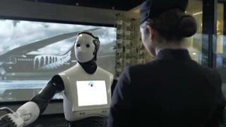 Robots atienden a pasajeros de aerolínea en Australia