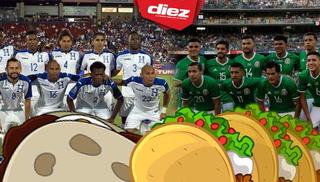Desde la cocina un combate más  entre Honduras y México