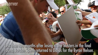 Jordan Spieth at the AT&T Byron Nelson