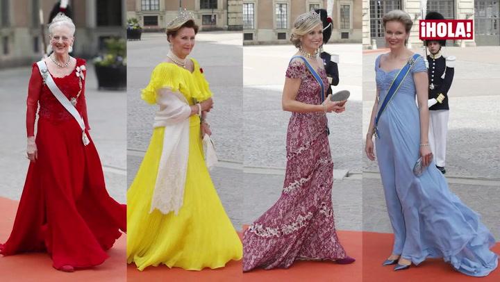 Así vistieron las invitadas a la boda real de Carlos Felipe y Sofia de Suecia