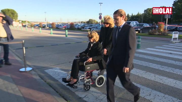 El último adiós a Alicia Borbón-Parma, tía del rey Juan Carlos