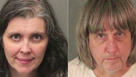 Autoridades en EEUU investigan casa del horror en California