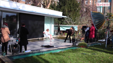 Behind the scenes of Whitney Port\'s HFM cover shoot