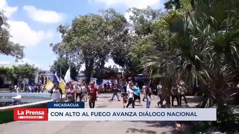 Con alto al fuego avanza Diálogo Nacional
