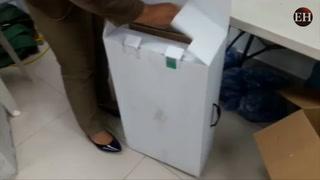 TSE aclara origen de material electoral hallado en centro comercial
