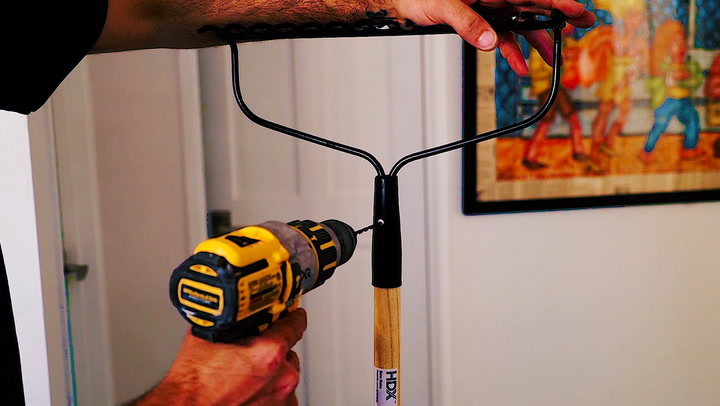 Here's How to Transform a Basic Yard Tool Into Home Decor