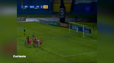 Real España 1 - 0 Vida (Liga Nacional)