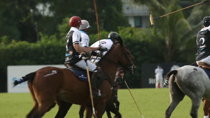 Prince Harry Plays Polo In Singapore