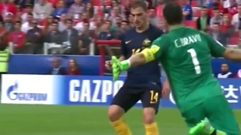 Chile empata ante Australia y jugará la semifinal ante Portugal