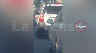 Alertan por asaltantes en moto en bulevar de San Pedro Sula