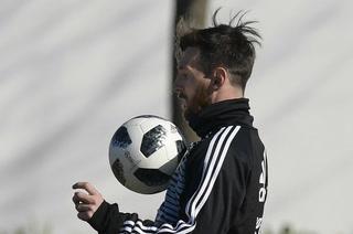 La alucinante chilena de Messi en el entrenamiento de Argentina