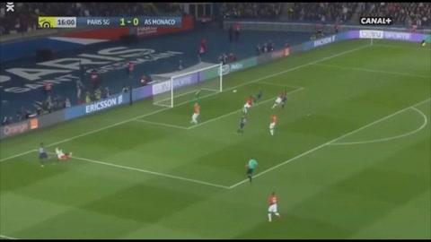 PSG 7 - 1 Monaco (Liga de Francia)