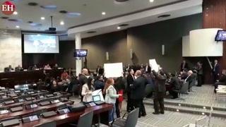 Diputados de la Oposición arman primer zafarrancho en el CN