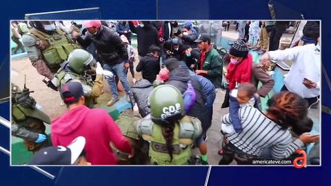 Análisis: Chilenos indignados queman pertenencia de migrantes venezolanos