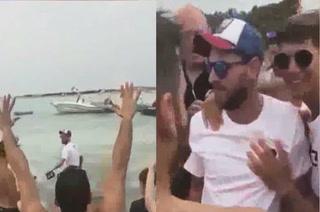 La osadía de Messi con sus fanáticos en sus vacaciones en Ibiza