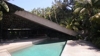The Goldstein House is an Architectural Masterpiece by John Lautner