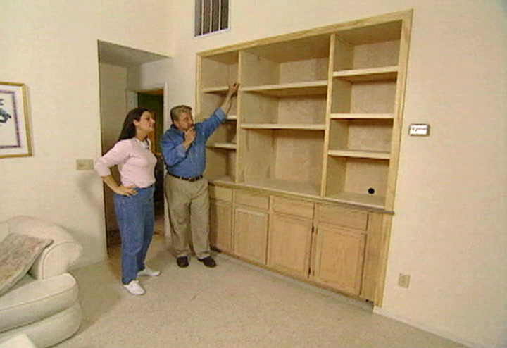 How To Make A Built In Entertainment Center Ron Hazelton