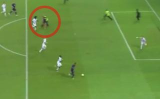 Aficionado en Francia intentó imitar el gol de