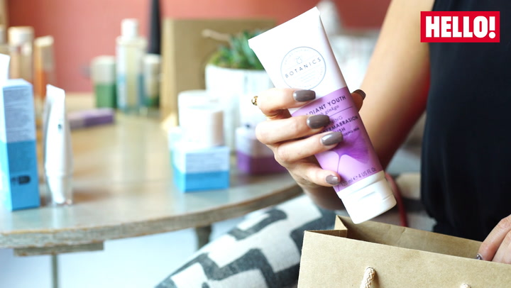 Lucy Mecklenburgh unboxes her beauty faves