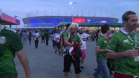 Mexicanos preparan el tequila camino a octavos del Mundial