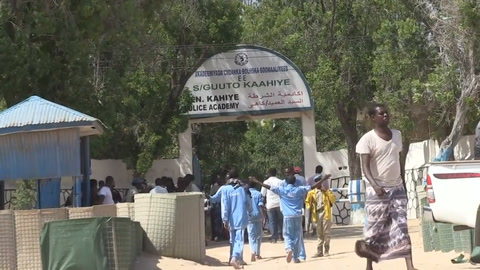 Al menos 18 policías murieron en atentado en Somalia