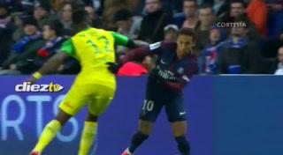 Las jugadas pintorescas de Neymar Jr ante el Nantes