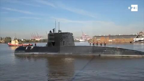 Cerca de 4.000 personas trabajan en la búsqueda del submarino argentino