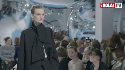 Christian Dior apuesta por el blanco y negro el próximo invierno