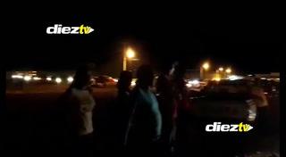 ¡Lamentable! Caos en Choluteca por enfrentamiento entre barras de Motagua y Olimpia