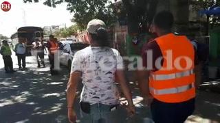 Renta de L.500 piden a vacacionistas en parque las Banderas, Tela