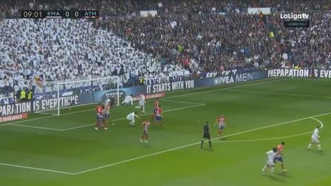 Real Madrid empata 1-1 ante el Atlético en el Bernabéu