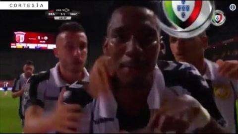 Mirá los dos goles de Bryan Róchez ante Braga en su debut