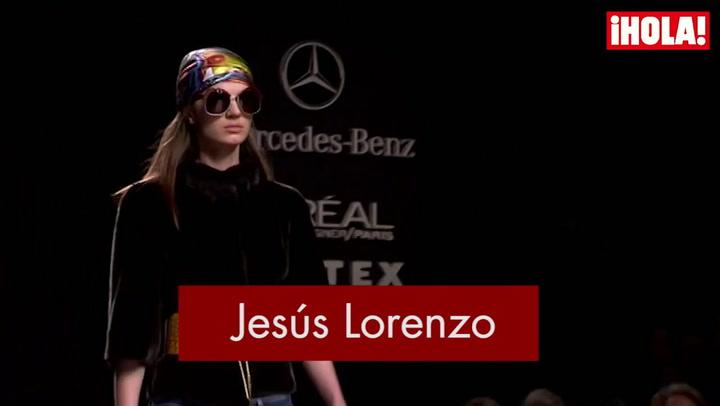 Fashion Week Madrid otoño-Invierno 2015-2016: Jesús Lorenzo