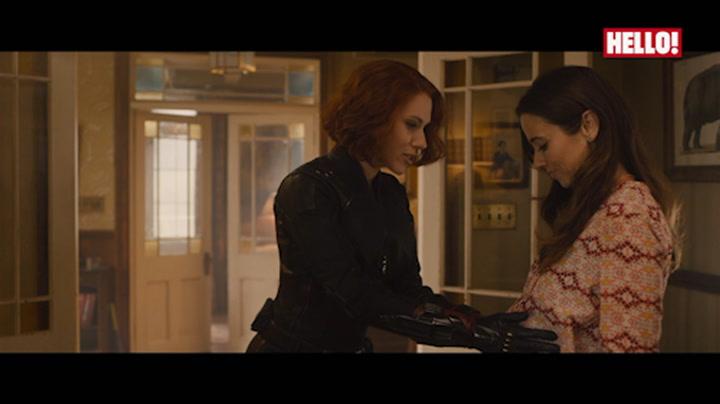 Watch Scarlett Johansson and Chris Hemsworth in exclusive Avengers clip: Hawkeye\'s secret