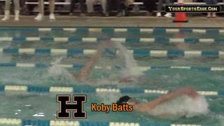 Hoptown's Batts Wins Regional 200 Yard Backstroke