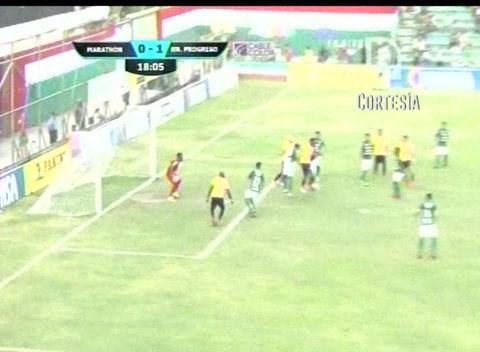 Marathón 2 - 1 H. Progreso (Liga Nacional)