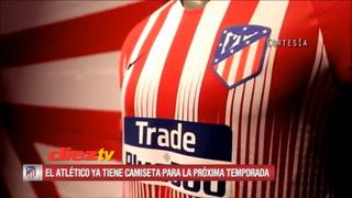 Atlético de Madrid presenta camiseta sin Griezmann ¿Se irá?