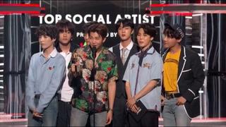 La agrupación BTS se lleva el premio