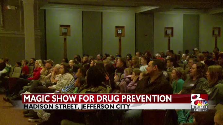 Tenth annual magic show to promote drug-free behavior